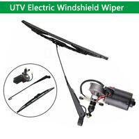 "16""  Universal 12V Electric UTV Windshield Wiper Motor windshield Wiper Kit"