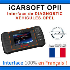Valise Diagnostique OPEL - iCarSOFT OPII - OPEL - GM TECH COM - OBD2 SCANNER