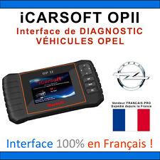 Valise Diagnostique OPEL - iCarSOFT OPII - OPEL - GM TECH COM - OBD2 SCANNER