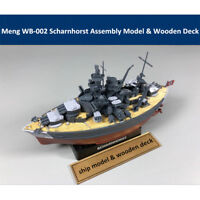 Meng WB-002 Warship Builder Scharnhorst Q Edition Assembly Model & Wooden Deck
