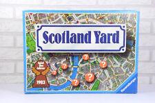 Scotland Yard mit Sichtschutz • Ravensburger • Brettspiel • SdJ 1983 • Komplett