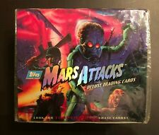 1994 Topps Mars Attacks Deluxe Trading Cards, Factory Sealed Box (rare)