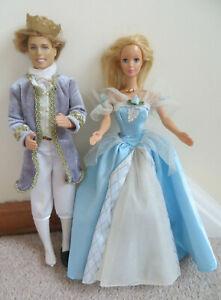 Vintage Mattel 1966 KEN & 1968 BARBIE DOLLS DANCE OUTFITS + CINDY BALL GOWN