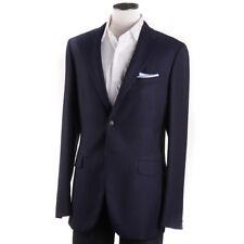 NWT $1600 BOGLIOLI Blue and Black Patterned Wool Sport Coat 36 R (Eu 46)