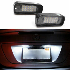 2× LED Number License Plate Light Bulbs for Mercedes W220 S320 S500 S430 1999-05