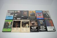 Lot of 12 Classic Rock Cassette Tapes 70s, & 80s Tested