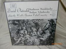 David Oistrakh Plays The World's Greatest Violin Concertos 3LP Box Set - S27606