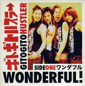 "Gitogito Hustler Wonderful 7"" Red Vinyl LTD edition Japanese Girl Group Pop Punk"