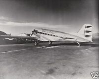 WESTERN AIRLINES BOEING 247 D ON TARMAC BLACK /& WHITE 8 X 10