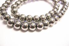 13inch strand 6mm Mardi Gras Beads(55 beads)-8909