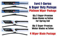 Platinum 4-pk Wiper Package 2009-2015 Ford F-Series & Super Duty 16220x2/35220x2