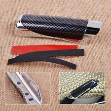 Car Auto Carbon Fiber Hand Brake Protector Decoration Cover Sticker Accessory