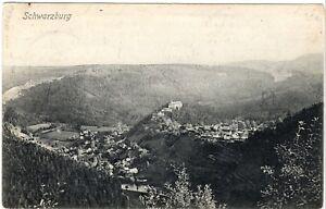 Germany Postcard 1906 Germany Schwarzburg
