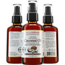 PURE Fractionated Coconut Oil Massage Oil Carrier Oil for Aromatherapy Oil 4 oz