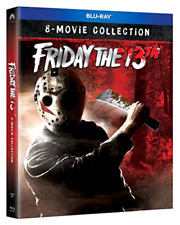 Friday the 13th 8 Movie Collection (Blu-ray) NEW