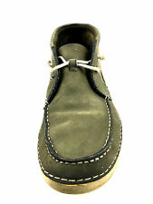 Vintage Timberland Earthkeeper Moc Toe Boots Army Green Size 8.5 USA.