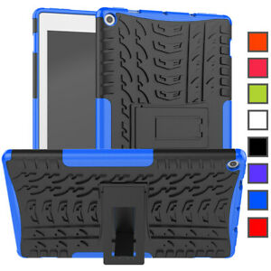"""For Amazon Kindle Fire HD 10 2019 2017 10.1"""" Hard Stand Hybrid Tablet Case Cover"""