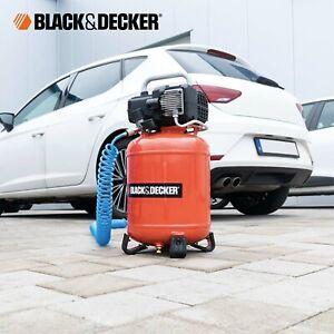 Elektrischer Druckluft Kompressor Black & Decker 1.5PS 24 Lt. BD195/24V Motor