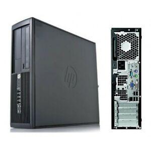 HP Compaq Pro 4300 SFF PC Desktop i7-3770S 3.10GHz 8GB RAM 1TBHDD Win10Pro