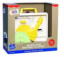 Fisher Price Classic Record Player Musical Classics Music Box 10 Songs 5 Reords
