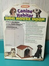 Nylabone Canine Habitat Dog House Door Medium New