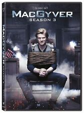 MacGyver Complete Third Season Three 3 Dvd Brand New 22-Episodes Reboot Cbs Tv