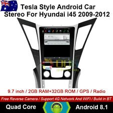 """9.7"""" Android 8.1 car non dvd Player Tesla Style GPS For Hyundai i45 2009-2012"""