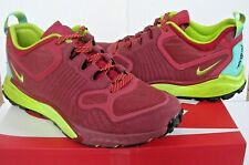 Nike Zoom Talaria Men's Red Suede Trainers UK 10 / EU 45 / US 11