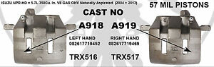 ISUZU NPR BRAKE CALIPER TRX516 OR TRX517