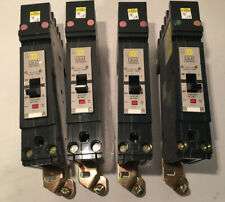 Lot Of 4 SQUARE D FJA140201 CIRCUIT BREAKERS 277V 20A Used
