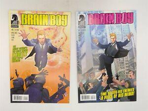 Brain Boy #1 (FN) & 3 (VF) Dark Horse Comics 2013