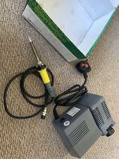 Skytronic 48w profesional de la estación de soldadura de hierro Termostática Digital 150-420 ° C