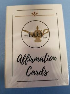 LOA BOX AFFIRMATION CARDS FULL SET  CARDS MINDFULNESS POSITIVE THINKING NEW