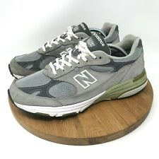 c513ef14799b4 100% AUTH NEW BALANCE 993 MENS RUNNING SHOES GRAY MADE IN USA 10.5 D MR993GL