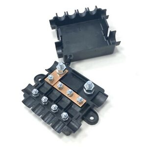 12V 24V Power Distribution Box - High Current Fuse Box For Midi & Mega Fuses