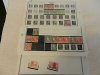Lot of 20 Denmark Stamps, King and Postfrimaerke, more