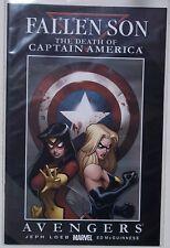 Death of Captain America: Fallen Son. No. 2 Avengers. Never Read. Marvel