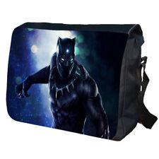Black Panther Comic School College Personalised Messenger Bag
