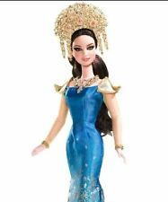 Dolls Of The World Sumatra Indonesia Barbie & Golden Headdress Necklace Doll