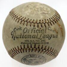 Circa 1919 Spalding Official National League John A. Heydler Baseball Original