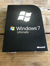Windows 7 Ultimate, Retail Vollversion, 32+64 bit  / GLC-00205 mit MwSt Rechnung