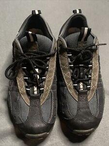 Women's Rockhopper Mountain Bike Cycling Shoes US7.5 Black/Gray 6113-6140