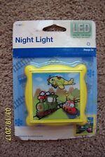 Train/Plane/Car Night Light - NIP