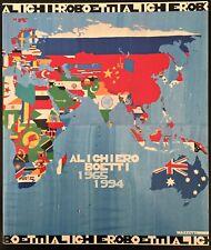 Alighiero Boetti 1965 / 1994 - Retrospettiva 1996 - Arte Povera