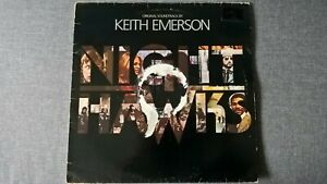 KEITH EMERSON - NIGHTHAWKS (Original Soundtrack) .       LP.