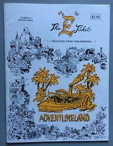 "Disneyland - THE ""E"" TICKET - Magazine #6 - Winter 1988-89 -  ""Adventureland"""
