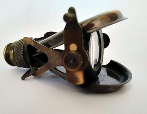 Nautical Fold-able Brass Binoculars Monocular Vintage Nautical Spyglass Handmade