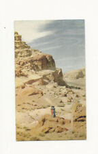 VINTAGE UNUSED UNION 76 GASOLINE POSTCARD OF RED ROCK CANYON