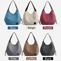 2020 Canvas Handbag Casual Large Capacity Ladies Commuter Mommy Bag Shoulder Bag