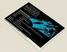 2003 Ersatz Aufkleber//Sticker für LEGO Star Wars 10129 Rebel Snowspeeder